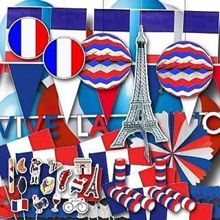 Frankreich Partydekoset groß