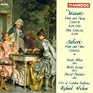Mozart: Concerto for Flute and Harp in C Major / Salieri: Concerto for Flute and Oboe in C Major