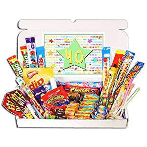 40th Birthday Sweets Gift Box