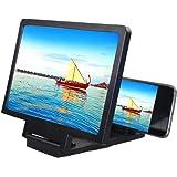 Kedelak Amplificatore dello schermo del telefono cellulare Effetto 3D Grande schermo per telefono cellulare Staffa Protezione