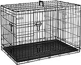 AmazonBasics Hundekäfig mit 2 Türen, Metall, zusammenklappbar, Gr. M - 6