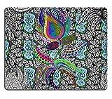 Jun XT Gaming Mousepad-ID: 40862121Abstrakt Schöne Hintergrund Royal Damast Ornament Vintage Reichhaltige Nahtlose Muster Luxus Artistic Vector Tapete Floral Ältesten Stil Fashioned Arabesque Stoff F