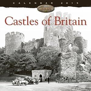 Castles of Britain wall calendar 2015 (Art calendar) (Flame Tree Publishing)