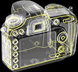 Nikon D7200 SLR-Digitalkamera (24 Megapixel, 8 cm (3,2 Zoll) LCD-Display, Wi-Fi, NFC, Full-HD-Video) nur Kameragehäuse schwarz - 8