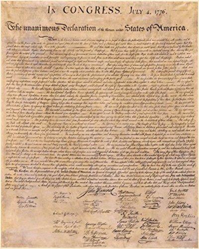 1art1-66998-USA-Die-Unabhngigkeitserklrung-4-Juli-1776-Poster-Kunstdruck-50-x-40-cm