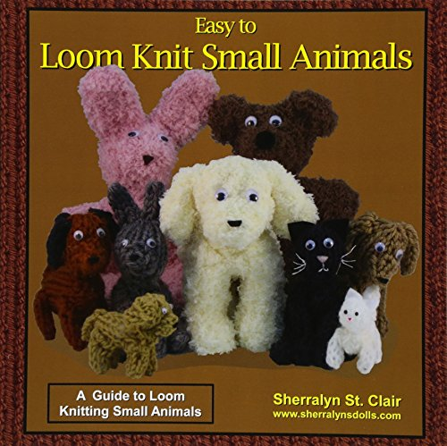 Animal-print Knit (Easy to Loom Knit Small Animals: A  Guide to Loom Knitting Small Animals)