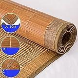 WENZHE Matratzen Bambus Matratzen Sommer-Schlafmatten Strohmatte Teppiche Zusammenklappbar Doppelseitige Verwendung Student Schlafsaal Zuhause Schlafzimmer, 2 Arten Strohmatte Teppiche