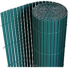 Esterilla de Protección de PVC Color Verde 90x300cm Protección Visual/de Viento para Jardín Balcón