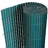 Esterilla de Protección de PVC Color Verde 90x300cm Protección Visual/de Viento para Jardín Balcón Cierre