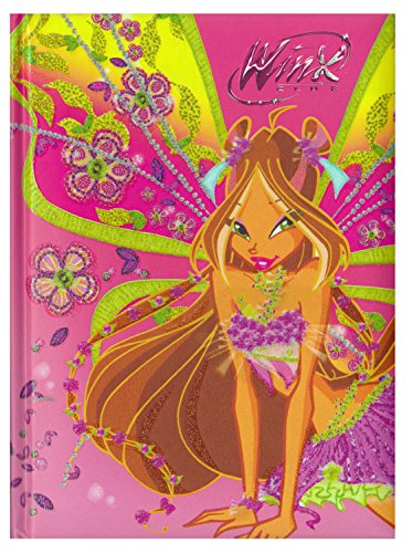 Diario scuola 10 mesi winx - prodotto ufficiale - dimensioni 15 x 20 cm (flora)