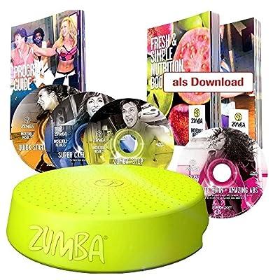 Zumba Fitness Tanz System mit Zumba Rizer und 4 Cds und vielen Extras - das Original von Mediashop von MediaShop
