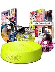 Mediashop - Sistema para fitness y zumba, con Zumba Rizer, 4 CD y muchos extras