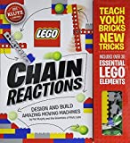 LEGO Chain Reactions is packed full of ideas, instructions, and inspiration for 10 LEGO machines that spin, swing, pivot, roll, lift, and drop. Each machine alone is awesome, but put them together and you get incredible chain reactions. Then, combine...