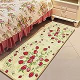 SUNFIRE Strawberry Mats nicht gewebt waschbar Teppich Läufer Bereich Teppiche für Baby-Raum 45x 122cm