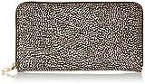 Borbonese 930134205, Portafoglio Donna, Marrone (Op Naturale), 19x11x2 cm (W x H x L)