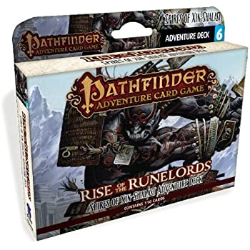 Pathfinder Adventure Card Game Rise of the Runelords Deck 6 Spires of Xin-Shalast Adventure Deck