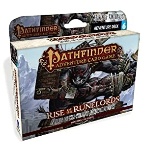 Pathfinder Adventure Card Game: Rise of the Runelords Deck 6 - Spires of Xin-Shalast Adventure Deck (Pathfinder Adventure Card Games: Adventure Deck)