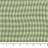 Moda Fabric Snowfall Wovens Small check Garland Green