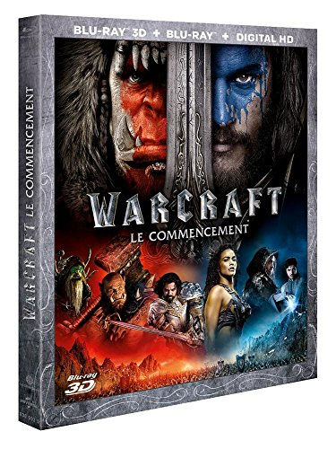 Warcraft : le commencement [Combo Blu-ray 3D + Blu-ray + Copie digitale] - Combo Digital Video