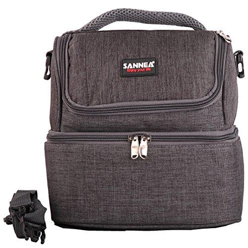 Yuanmy borsa da pranzo lavoro oxford borsa isotermica da picnic grande capacità 7 litri per ufficio, scuola