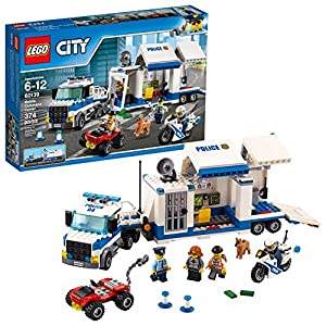 LEGO City Police Mobile Command Center 60139 Building Kit  LEGO