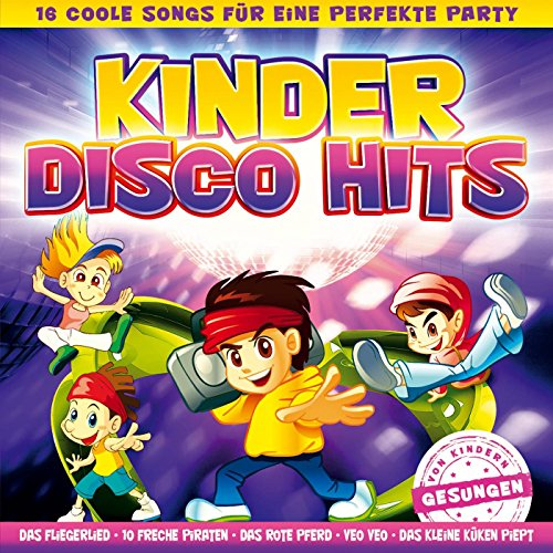 Kinder Disco Hits - 16 coole Songs für eine perfekte Party - Folge 1