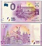 0EURO 0 EURO Souvenir Note EDITION 2 (Original seltener Köln Euro Schein Limitierte Auflage Online auf 500 Stk.)