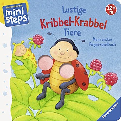 Bilderbuch 'Lustige Kribbel-Krabbel Tiere'