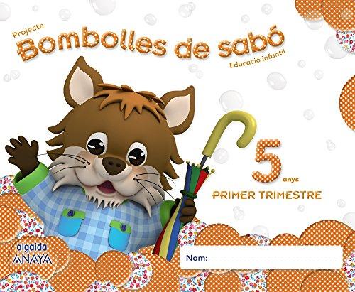 Bombolles de sabó 5 anys. 1º Trimestre (Pompas de Jabón) - 9788490672112