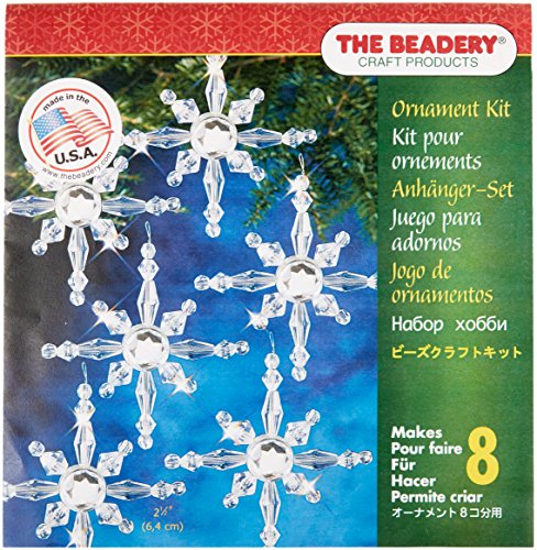 Beadery Kunststoff Holiday Perlen Ornament Kit North Sterne 2,5Macht 8