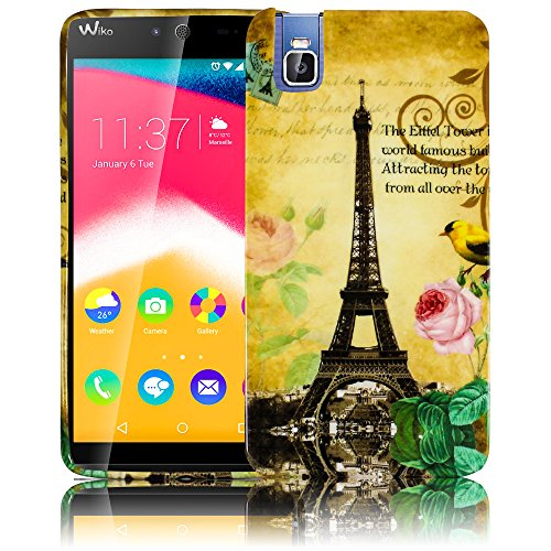 Huawei ShotX / Honor 7i LA TOUR PARIS EIFFELTURM Silikon Schutz-Hülle weiche Tasche Cover Case Bumper Etui Flip smartphone handy backcover thematys®