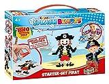 Craze 10778 - Splash Beadys Starter Set Pirat, mit Perlen und Zubehör