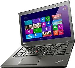 Lenovo Notebook ThinkPad T440 Intel i5 1,9GHz 4GB 500GB Cam Windows10 Pro 1366 1H08 (Zertifiziert und Generalüberholt)