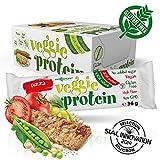 Maxsport Nutrition Glutenfrei Vegan Protein Veggie Proteinriegel - 16 Stück - Pizza