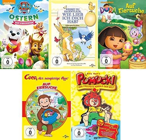 5 DVDs - Kinder-Set - Ostern - Deutsche Originalware [5 DVDs]
