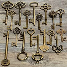 MOHOO 18x Retro ciondolo chiave Vintage chiave di ragazzi e ragazze