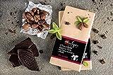 Chocolate negro 72% con cacao ecológico y stevia. Sin azúcar. Apto para diabéticos. Sin gluten. 100 Gr. Sin conservantes ni colorantes. Producto Gourmet