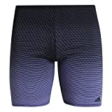 adidas Herren Performance Training 3 Stripes Print Boxer, Raw Indigo/Black, 6