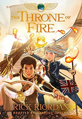 The Kane Chronicles, Book Two the Throne of Fire: The Graphic Novel por Rick Riordan