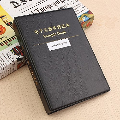 LaDicha 0805 Smd-Chip-Induktivitäten-Sortiment-Kit 44 Werte X 25 Jeweils Sortierte Musterbuch 4.7Nh-100Uh Eine Klare Wireless-modem-router