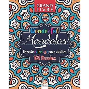 Wonderful Mandalas - Livre de Coloriage pour Adultes: 100 Illustrations (Mandalas) à COLORIER