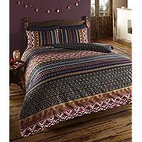 Etnico biancheria da letto tessili per la - Amazon biancheria letto ...