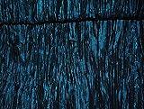 1 m * 1,1 m - Stoff - Taft Satin - edel schimmernd mit 3-D Effekt Crash - türkis blau / petrol - z.B. für festliche Kleidung u.v.m. Stoffe Meterware - Kleiderstoff / Dekostoff - gemustert / Festkleidung -Festkleider - festlich - Röcke / türkisblau