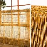 Schilfrohrmatte als Sichtschutz 120 cm hoch x 600 cm breit für Garten Balkon Terrasse