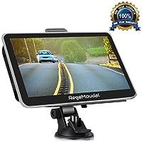 GPS Navi Navigation für Auto,Regemoudal Auto GPS Navigation 7 Zoll 8G 256M Europe Traffic Navigationsgerät , vorinstallierte EU Karten, kostenlose Lifetime Updates