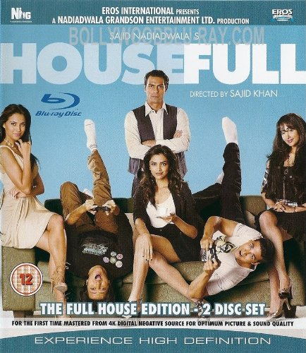 Housefull [Blu-ray] (Comedy Bollywood Movie / Indian Cinema / Hindi Film)