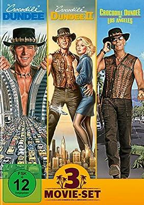 Crocodile Dundee 1-3 - 3 Movie Set [3 DVDs]