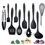 Adkwse Keukenset van siliconen, kookbestek, geavanceerde hittebestendige keukenapparaten, kookaccessoires, anti-aanbak-keuken