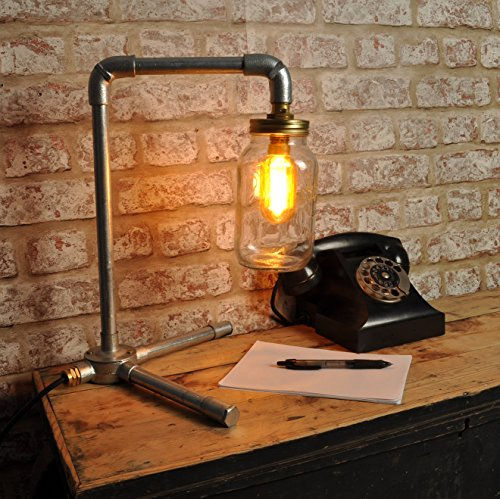 THE-LANGMORE-Desk-Lamp-KILNER-Jar-New-Industrial-Style-Vintage-Retro-Light-Fitting-Bed-Side-Bar-Restaurant-Loft-Urban-Farmhouse-Steampunk-pipe