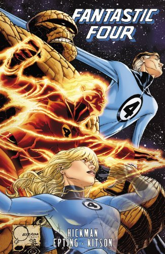 Fantastic Four by Jonathan Hickman - Volume 5 by Jonathan Hickman (22-Jan-2013) Paperback